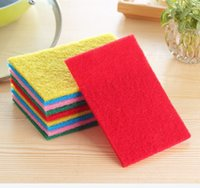 Wholesale kitchen towel Auto Care Microfiber Cleaning Cloths Magic Household Glasses Car Clean Sponge Cloth TY301