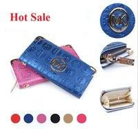 genuine leather wallet - Lady Women Wallets Genuine Leather Purses Long Wallet Women Brand Designer Wallets Woman Leather Wallet Purse