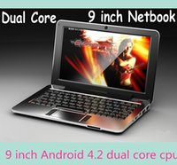 Wholesale 2015 Mini laptop for kids inch jellybean Android dual core cpu lowest price Netbook XB09
