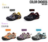 achat en gros de aqua sandales-Gros-2015 Summer Hommes / Femmes respirant chaussures de plage extérieure Waking Sandales Aqua Eau randonnée étanche Chaussures de sport