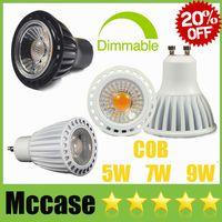 best black light bulb - Best OFF CREE W W W Dimmable Non COB LED Spotlights GU10 E27 E14 MR16 CRI gt White Black Cabinet Spot Lights Bulbs Lamps CSA SAA UL