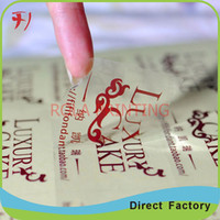 Wholesale Customized newest manufacture OEM custom honey labels