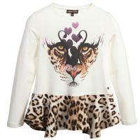 leopard print mini dress - Girls Christmas Dresses Winter Kids Clothes Designer Long Sleeve Leopard Printed Girl Dress Christmas Tutu Dress Children Clothing