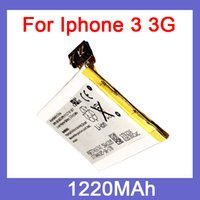 Wholesale replacement mobile phone battery for iphone g gs battery akku high capacity