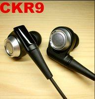 Nouveau CKR9 Super Bass Drivers Écouteurs isolation sonore Dynamic In-Ear stéréo Hifi DJ écouteurs de musique Livraison gratuite