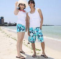 bali pants - Two package shipping Korean couple beach pants beach lovers vest seaside resort of Bali necessary