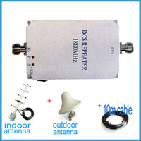 mobile phone market - Direct Marketing coverage area square Gain60dB MHz Mobile phone signal booster indoor outdoor antenna cable set