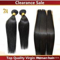 cheap black hair - Clearance Sale Silky Bundles Cheap A Human Hair Extension Brazilian Straight Hair Weave Natural Black Queen Loves Hair