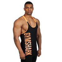 best tank tops men - Professional Print Letters Sports Vest for Men Cheap Sleeveless Training Tank Tops Best Summer Cool GYM Tank Tops