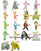Wholesale MALL250 Children s Christmas Performance Clothing Clothes Children Cartoon Dinosaur Blue Cat Pink Pig Rabbit Yellow Duck New Year Costumes