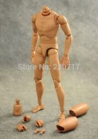 action figures pictures - HOT Scale Narrow Shoulder Action Figure NUDE Male Body Toys fit TTM18 TTM19 toy story woody pictures