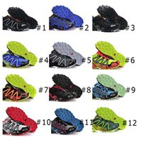 Wholesale Solo mon Waterproof Salo mon Speedcross Running Shoes Outdoor Running Shoes Mens Sneakers