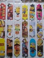 Wholesale 12pcs Cute Cartoon paper bookmark Kawaii Girl giraffe Animal Paper Bookmark Paper Gift Stationery