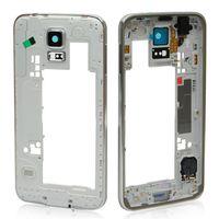 Wholesale OEM Samsung Galaxy S5 i9600 G900A G900V G900T Rear Back Housing Middle Bezel Frame Camera Lens Cover