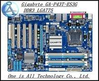 Wholesale original motherboard for Gigabyte GA P43T ES3G P43T ES3G DDR3 RAM G LGA775