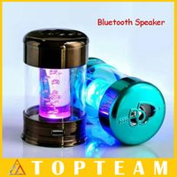 2.1 mini speaker rechargeable - Hotsell Water Column Bluetooth Speaker Wireless Audio mp3 Player With FM radio Mini Speaker Portable Rechargeable Freeshipping DHL