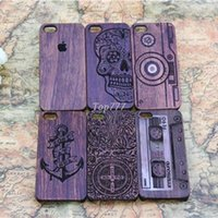 bamboo sculptures - Hight Quality New Style Bamboo Traditional sculpture Wood Hard Back Wooden Case Cover for iphone S G