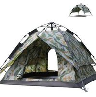 Wholesale NEW person automatic pop up tent army green camouflage tent have in stock