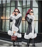 animal applique patterns - New Style fashion Korean winter fox fur collar lady woolen lovely girl princess winter down cotton slim noble party coat