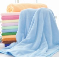 Wholesale 100pcs Super Absorbent Microfiber Bath Towel cm Square Not Fade Not Drow Wool Bath Towel