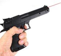 airsoft gun - DHL Eagle Infrared laser nerf gun plastic toy gun blaster pneumatic gun pistola de pressao airsoft pistol slugterra toys guns