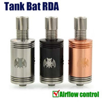 Cheap HOT Tank Bat RDA Atomizer 22mm Rebuidable Atomizer vs aqua v2 Mutation X monkey legion Enigma taifun gt-s dark horse v2 rba atomizer