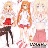 anime dakimakura - HOT New Anime Himouto Umaru Chan Doma Umaru Uniform Cute Dakimakura Pillow Covers Case Hugging Body