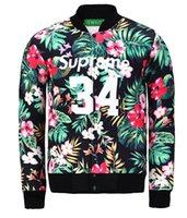 Wholesale New D printed flowers cappotto mens women Winter coat space cotton outerwear baseball hip hop outdoor jacket chaqueta hombre rwltbqfx14a