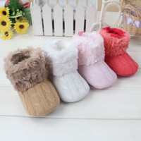 arrival loop - Knit Baby Shoes New Arrivals Baby First Walking Shoes Top Quality Winter Warm Booties M Children Footgear Hot Sales