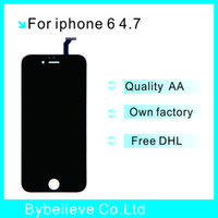 Wholesale Best quality for iPhone LCD dispiay touch screen Digitizer Assembley replacement Black Best price
