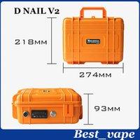 Vape Kit Dry Herbal PID électronique numérique DNail Dab Titanium DNail Domeless Dnail WAX Vaporisateur Box Vapor