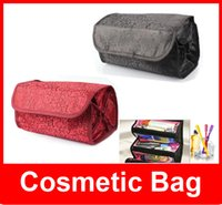 rolling bag - cosmetic bag Multi function fashion women makeup bag hanging toiletries travel kit jewelry organizer Roll N Go Lady s bag