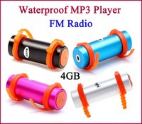 Wholesale Fashionable Style Waterproof IPX7 Sports MP3 Player GB for Swimming or SPA FM Radio