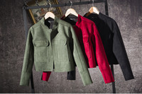 ancient army - New spring fashion faux suede wind restoring ancient ways ms leisure jacket coat