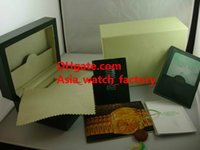 Wholesale Factory Supplier new Original box and certificate Wooden Boxes Gift Box green Wooden Watchs Box Men s Watches box original Watchs Box