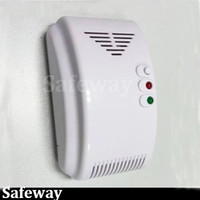 Wholesale V wired gas detector lpg natural gas leak detector for security alarm system home security