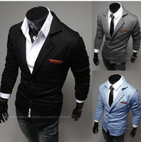 Wholesale Hot Sale mens blazer New Design Mens Brand Blazer Jacket Coats Casual Slim Fit Stylish Blazers For Men Male Plus Size M XXL Colors