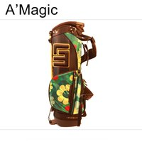Wholesale Loudmouth golf stand bag European and American style dacron colorful