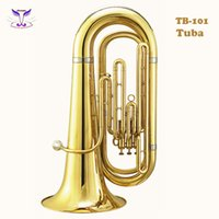 bb tuba - Gold lacquer Bb Tuba high quality from china