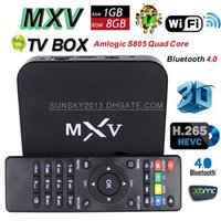 Cheap Quad Core MXV Android TV Box Best Included 1080P (Full-HD) Streaming Quad Core TV Box