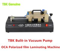 Wholesale TBK Built in Vacuum Pump OCA Polarized film laminating Machine Repair Broken LCD Touch Screen Universal