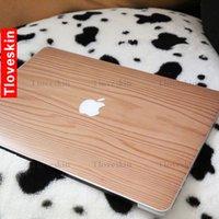 Wholesale Light color Wood grain Laptop Skin Decals for Macbook macbook sticker macbook decals