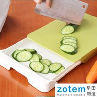 Wholesale New Multifunction Antibiosis Locker Chopping Block Cutting Board with Eco friendly PE Plastic