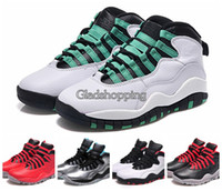 Unisex Mesh EVA New Retro 10 Verde PSNY Lady Liberty Red Cement 45 CHI Basketball Shoes For Men Women, Retro Shoes Sale Cheap Sneakers,Famous Trainers
