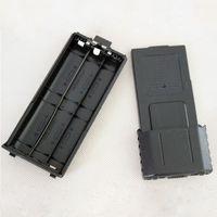 aa battery case - 3800mah AA Plastic Battery Case Pack For BaoFeng UV R UV RB UV RE TYT TH F8 TH UVF9 Walkie Talkie Need AA Batteries