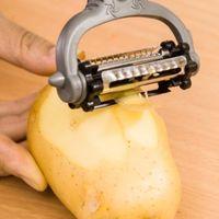 potato peeler - New Multifunctional Degree Rotary Potato Peeler Vegetable Cutter Fruit Melon Planer Grater Kitchen Gadgets with Blades