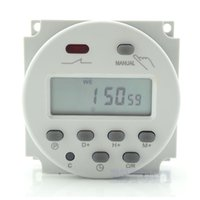 Wholesale AC V V A Time Digital LCD Power Control Programmable Timer Switch Relay