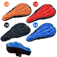 Wholesale Mountain MTB Gel Comfort Cycling Bicycle Saddle Cover Soft Thick Cycling Bike Gel Seat Cushion Pad LN