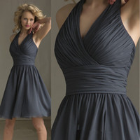 Cheap Cheap Bridesmaid dresses Best chiffon party dresses