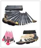 beauty match - Women s Professinal Cosmetic Brushes Makeup brush set Beauty Maquiagem Pinceis Make up Tools Set Match Case Plus colors